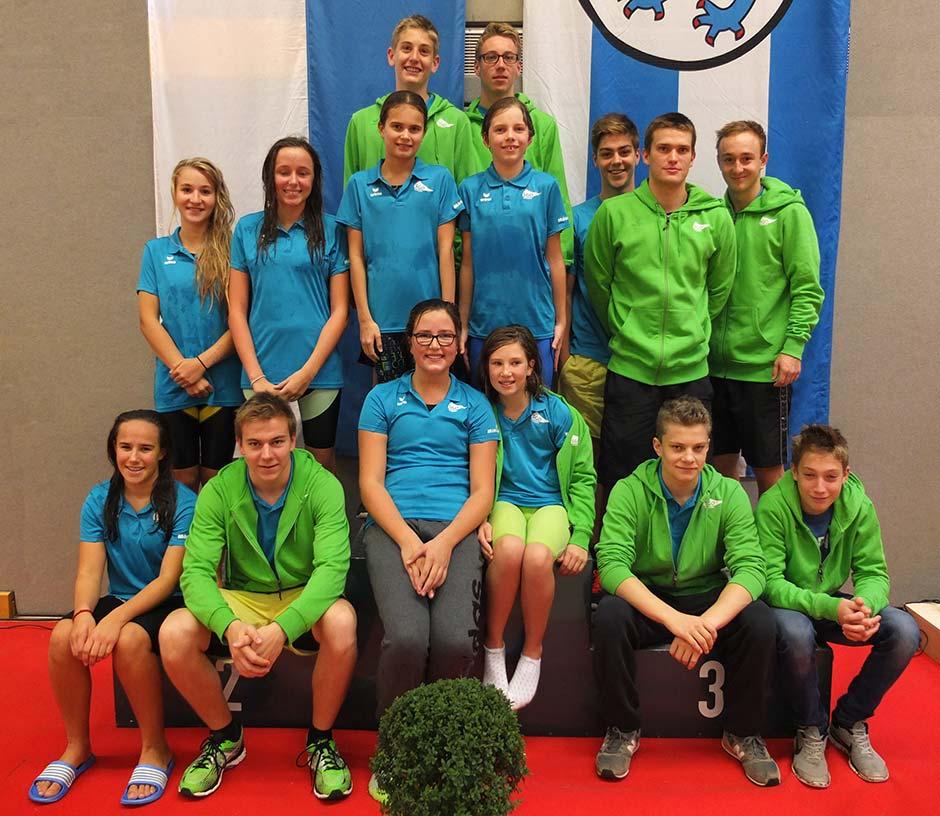 Die Teilnehmer der SGO im neuen Outfit