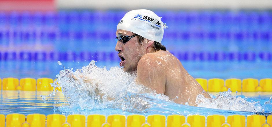 Dreifacher Masterseuropameister Benno Hawe in Aktion